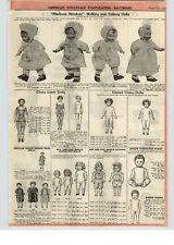 1922 PAPER AD Madame Hendren Walking Talking Dolls China Limb Curly Hair Kidlyn