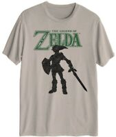 Legend of Zelda Mens Graphic T Shirt Size Medium