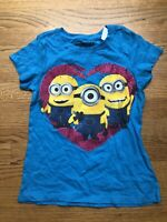 "NEW DESPICABLE ME /""OOPS/"" MINIONS YOUTH SIZE 18-20 XLARGE XL SHIRT 70JZ"