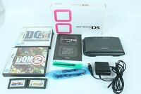 Nintendo DS Black Console With Charger And Box Tested Japan
