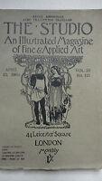 THE STUDIO an illustrated magazine of fine art & applied art april. 15 1903