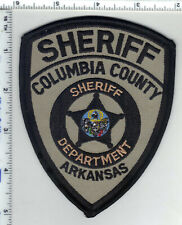 Columbia County Sheriff (Arkansas) 2nd Issue Shoulder Patch