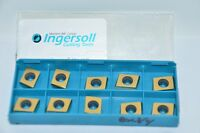 Lot of 10 NEW Ingersoll CDE323L022 Carbide Inserts, Grade IN1530, 5303872