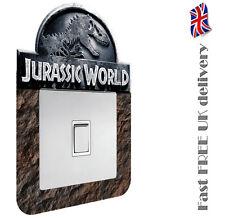 JURASSIC WORLD PARK / DINOSAUR light switch surround sticker / decal