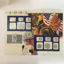 1991 US Uncirculated Coin Mint Sets Collection,Postal Commemorative Society,P&D