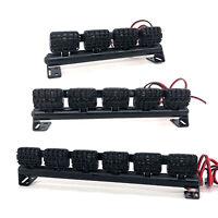 LED Roof Lamp Light Bar Bright Mesh Spotlight For 1/10 TRX-4 SCX10 RC Crawler