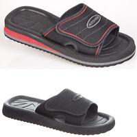 Mens Summer Slipper Flip Flops Slip On Holiday Beach Shower Mules Flats Shoes