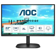 "AOC 22B2H Monitor Piatto Per Pc 21,5"" 1920x1080 Pixel Full Hd Led Nero Monitor P"