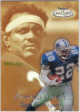 1999 TOPPS GOLD LABEL RACE TO PAYTON: EMMITT SMITH #R6 COWBOYS GREATEST BLACK