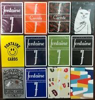 1X Mystery Deck Playing Cards FLASH SALE Rare Fontaines Virtuoso theory11