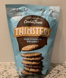 Mrs. Thinsters Dark Chocolate Coconut Cookie Thins 18 oz Bag