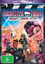Monster High: Frights, Camera, Action! (DVD/UV)  - DVD - Like New Unused