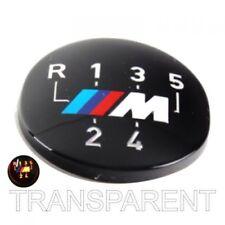 Original BMW M Emblem für Schaltknauf 5 Gang transparent
