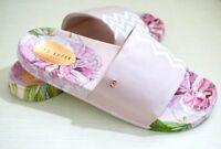 NIB $95 Ted Baker Aveline Floral Slides Sandals, Palace (Pink), Choose a Size!