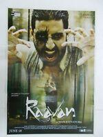RAAVAN 2010 ABHISHEK AISHWARYA Rare Poster Bollywood Film India Hindi