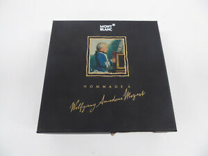 MONTBLANC HOMMAGE A WOLFGANG AMADEUS MOZART + BOX, CD, BOOKLET - NO PEN
