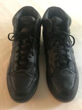 Converse Weapon Sneakers Mens Black Leather High Top Shoes SZ 15 AK356