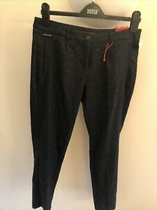 S.oliver Smart Ankle Regular Fit Medium Rise Trousers Size 10/36