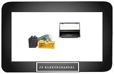 Radioblende + ISO Adapter MAZDA MX5 TRIBUTE PREMACY  Einbaurahmen