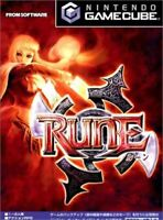 USED Nintendo Gamecube RUNE Rune 91010 JAPAN IMPORT