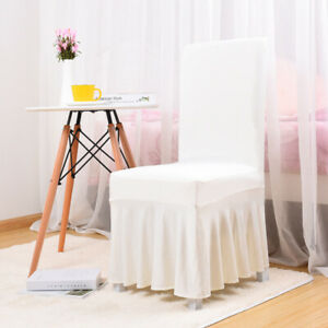Stretch Dining Chair Cover Slipcover Seat Cushion Cover Home Wedding Decor I