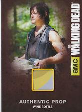 The Walking Dead Season 4/1 M03 Prop Card Wine Bottle (B)