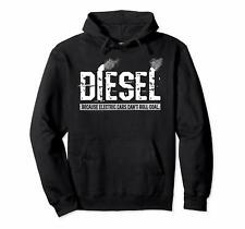 Diesel Rolling Coal Pullover Unisex Hoodie Size S-3XL