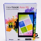 Nextbook Ares 8A 16 GB, Quad-Core Processor, Android 6.0 (Marshmallow OS) - Blue