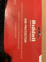 Riddell Protect And Perform Rib Protector