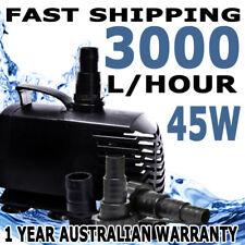 3000LPH Submersible Aqua Aquarium Fountain Pond Marine Water Air Pump Fish Tank