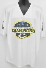 2010 NFC Conference Champions NFL Green Bay Packers Jersey Shirt XL KUHN #30