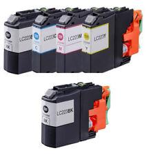 5 Compatible LC223 ink for Brother MFC-J4625DW MFC-J480DW MFC-J5320DW MFC-J5620D