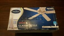 Harbor Breeze Ceiling Fan #0076888, 52 inch, White, Classic Style, New Sealed