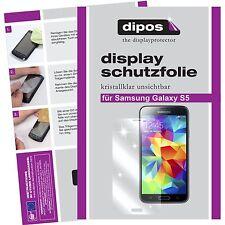 4x Samsung Galaxy S5 / S5 Neo Schutzfolie klar Displayschutzfolie Folie dipos