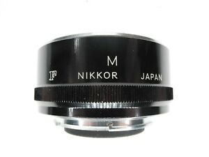 Nikon M 27.5mm F Mount Camera Lens Extension Tube For Non Ai 55mm f/3.5 Macro