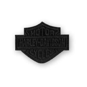 Harley-Davidson Aufnäher B&S Black