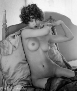 Albert Arthur Allen Photo, Female Figure in Bed