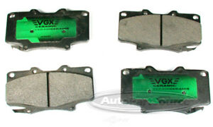 Disc Brake Pad Set-Ceramic Pads Front Tru Star CBP502