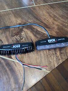 Pair Of Whelen ION Split Red Universal LED Lights