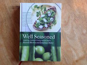 Well Seasoned by Russell Brown & Jonathan Haley Vgc Hardback Book