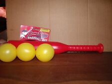 Plastic Baseball Bat Set,for small children,1 Bat and 3 Balls,