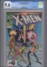 Uncanny X-Men #189 CGC 9.6 1984 Marvel Comics Sabastian Shaw, Magma, Selene  App