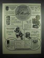 1947 Willoughby's Ad - Micro 16 & Keystone K8 Camera
