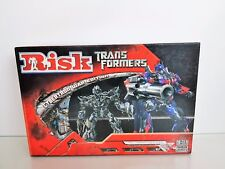 HASBRO RISK TRANSFORMERS CYBERTRON WAR EDITION BOARD GAME-2007 UNUSED MINT