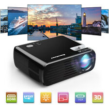 New listing 7000Lumens Led Hd 1080P 3D Video Home Theater Projector Multimedia 2*Usb 2*Hdmi