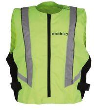 Modeka Warnweste XL neon gelb Motorrad Sicherheitsweste Reflektor Pannenweste