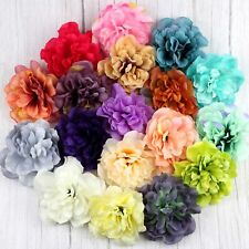 10P Large Fake Big Peony Rose Artificial Silk flower Head DIY Wedding Home Decor