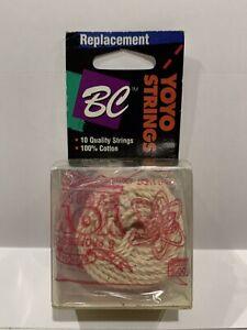 BC 100% Cotton Replacement YoYo String 10 White Strings Included NOS New yo-yo