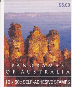 2001 Panoramas International Stamps Stamp Booklet (SB144) General Barcode