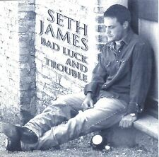 SETH JAMES BAD LUCK AND TROUBLE RARE CD COUNTRY ROCK THE DEPARTED